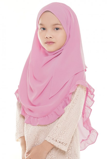 (AS-IS) Darda Ruffle Kids in Pink