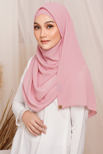 Sadia Long Shawl in Pink