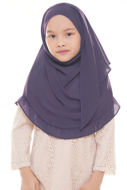 Darda Ruffle Kids in Purple