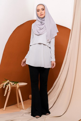 Raisa Royale Blouse in Grey