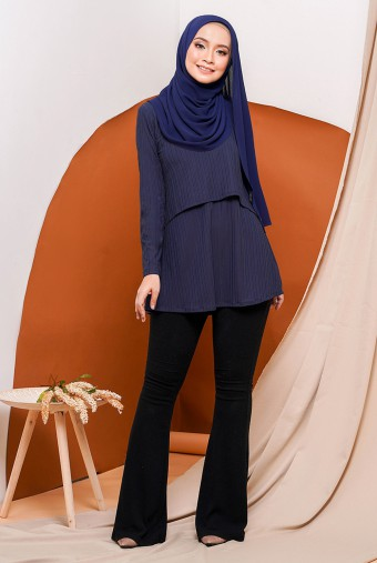Raisa Royale Blouse in Blue