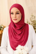 Nour Long Shawl In Red