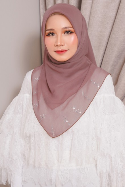 Myla Luxe Bawal Rosy Brown