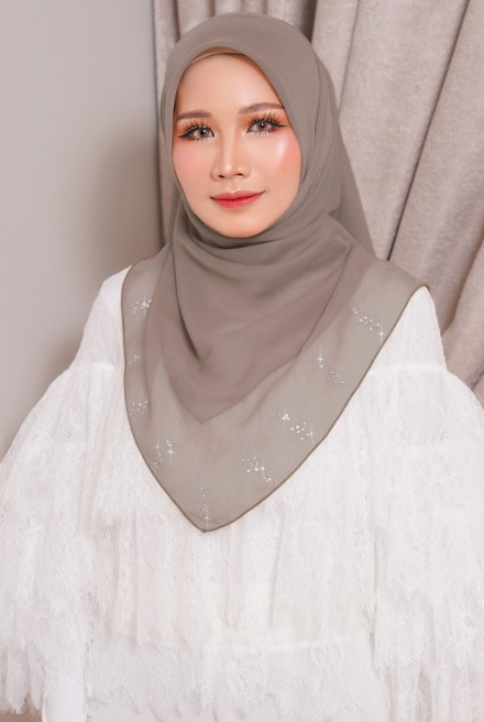 Myla Luxe Bawal Smokey Brown