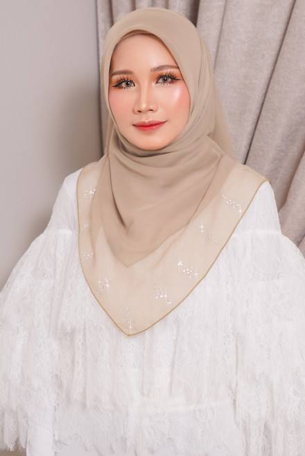Myla Luxe Bawal Soft Brown