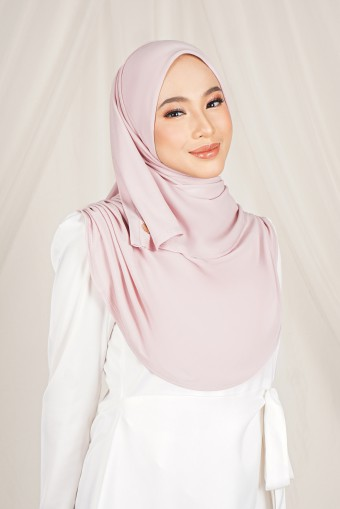Kaila Inner Shawl in Soft Pink