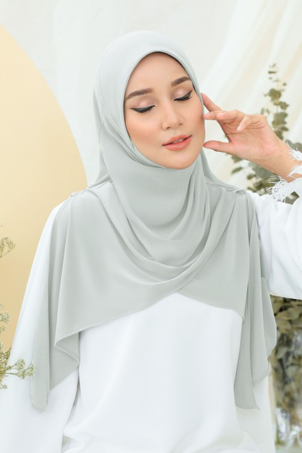 Raesa Bawal Express In Soft Grey